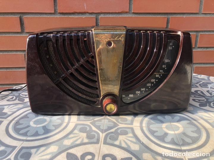 RADIO ANTIGUA ZENITH. MÁS PONIENDO USMO (Radios, Gramófonos, Grabadoras y Otros - Radios de Válvulas)