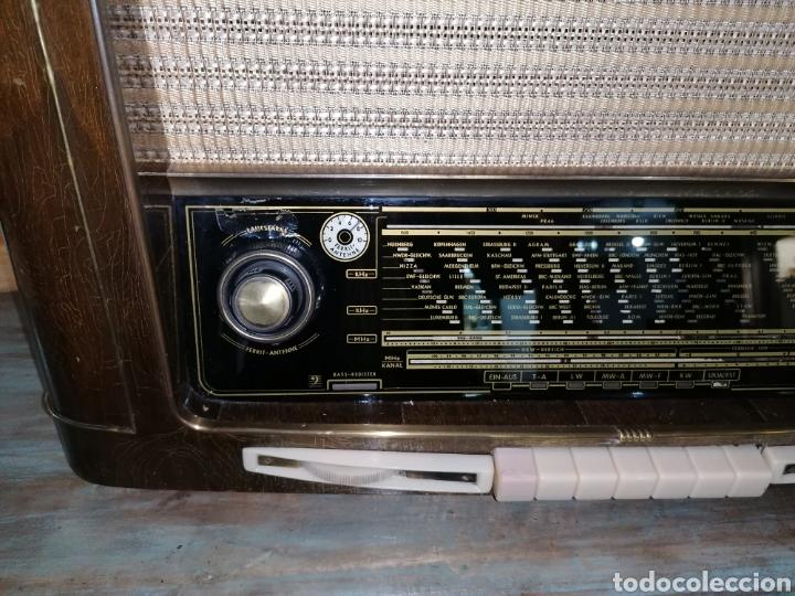 Radios de válvulas: Antiguo radio Grundig funcionando - Foto 3 - 218757106