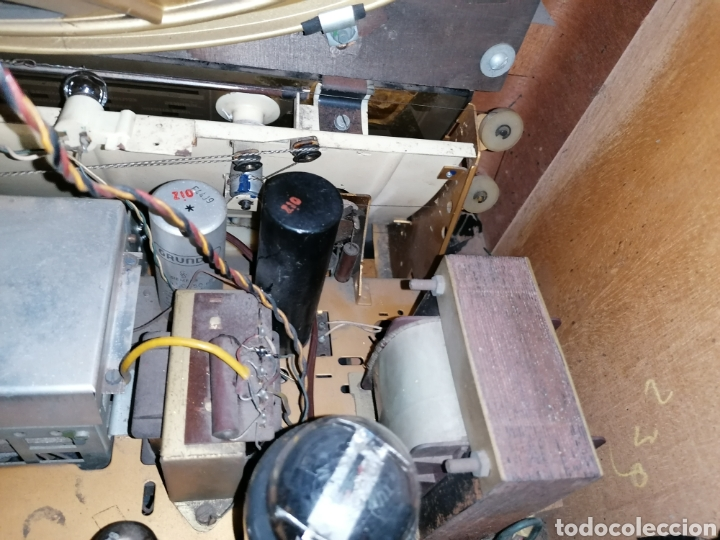 Radios de válvulas: Antiguo radio Grundig funcionando - Foto 8 - 218757106