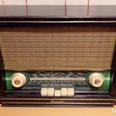 Radios de válvulas: RADIO MAITE, CON MUEBLE DE MADERA. FUNCIONA Y SINTONIZA.. Lote 218869748