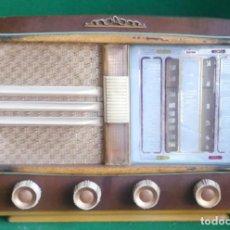 Radios de válvulas: RADIO BERTRAN MINIWATT A95 - D-780 - 1953 - COMPLETA Y ORIGINAL - MUY BUEN ESTADO - FUNCIONANDO. Lote 219134876