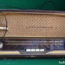 Radios de válvulas: RADIO ANGLO ESPAÑOLA DE ELECTRICIDAD 384 FM - AEESA 1960 - COMPLETA Y ORIGINAL - FUNCIONANDO. Lote 219135363