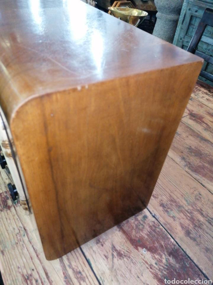 Radios de válvulas: Radio con caja de madera - Foto 2 - 219514241
