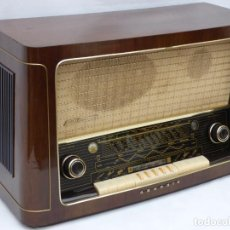 Radio a valvole: ANTIGUA RADIO DE VÁLVULAS MARCA GRUNDIG, MUY BIEN CONSERVADA, FUNCIONANDO CON BUEN SONIDO (VER VÍDEO. Lote 109154331