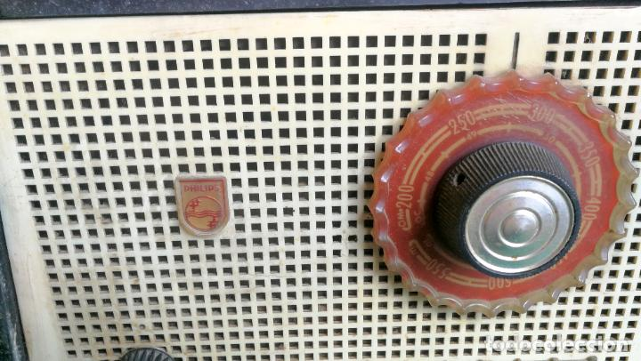 Radios de válvulas: RADIO PHILIPS B1E 92U - 1959 - BUEN ESTADO Y FUNCIONANDO - Foto 2 - 219763390