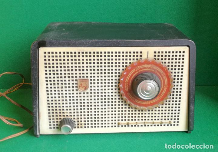 RADIO PHILIPS B1E 92U - 1959 - NO FUNCIONA (Radios, Gramófonos, Grabadoras y Otros - Radios de Válvulas)