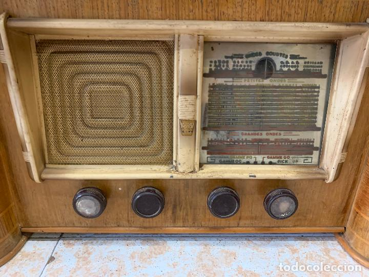 Radios de válvulas: Excepcional radio tocadiscos, ART-DECO, STROBOSCOPE MILLS SIRENAVOX. Rarisima. Pieza de museo - Foto 4 - 220366938