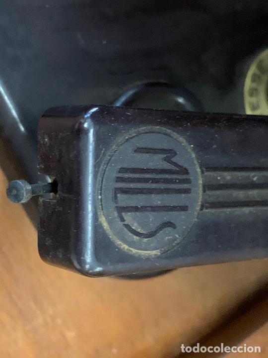 Radios de válvulas: Excepcional radio tocadiscos, ART-DECO, STROBOSCOPE MILLS SIRENAVOX. Rarisima. Pieza de museo - Foto 8 - 220366938
