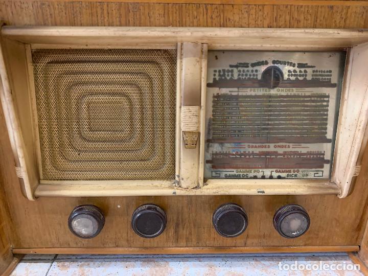 Radios de válvulas: Excepcional radio tocadiscos, ART-DECO, STROBOSCOPE MILLS SIRENAVOX. Rarisima. Pieza de museo - Foto 10 - 220366938