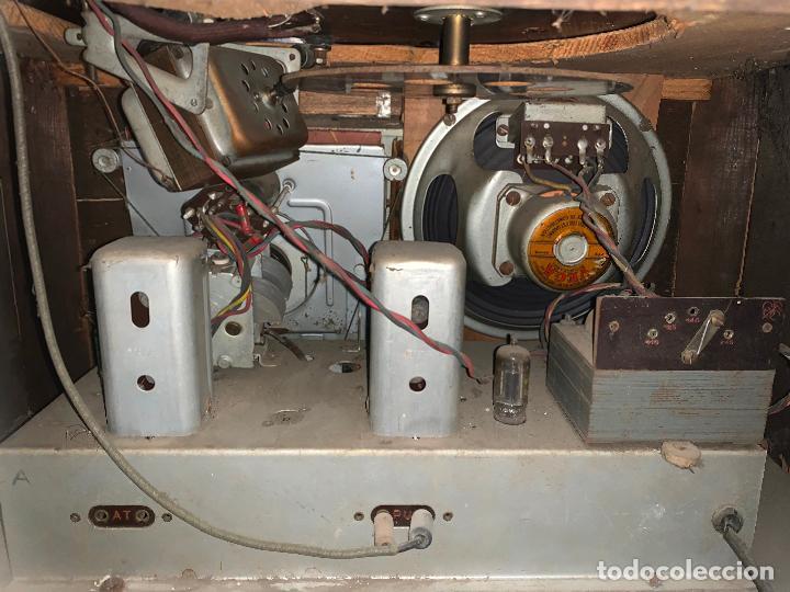 Radios de válvulas: Excepcional radio tocadiscos, ART-DECO, STROBOSCOPE MILLS SIRENAVOX. Rarisima. Pieza de museo - Foto 12 - 220366938