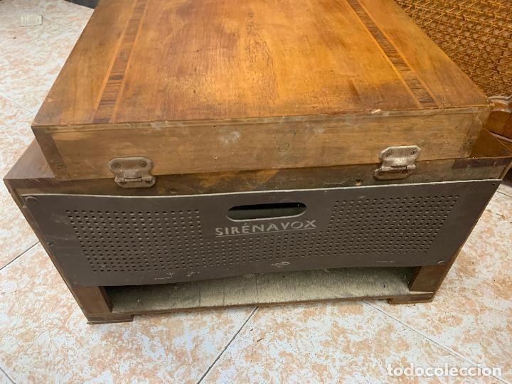 Radios de válvulas: Excepcional radio tocadiscos, ART-DECO, STROBOSCOPE MILLS SIRENAVOX. Rarisima. Pieza de museo - Foto 13 - 220366938