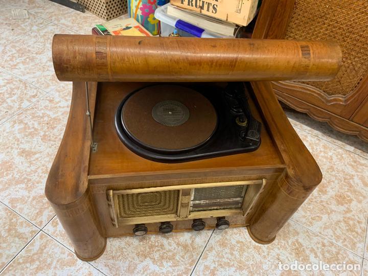 Radios de válvulas: Excepcional radio tocadiscos, ART-DECO, STROBOSCOPE MILLS SIRENAVOX. Rarisima. Pieza de museo - Foto 20 - 220366938