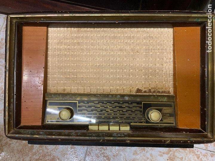 Radios de válvulas: Antigua radio MARCONI, modelo AM-96, ver fotos - Foto 2 - 220369357