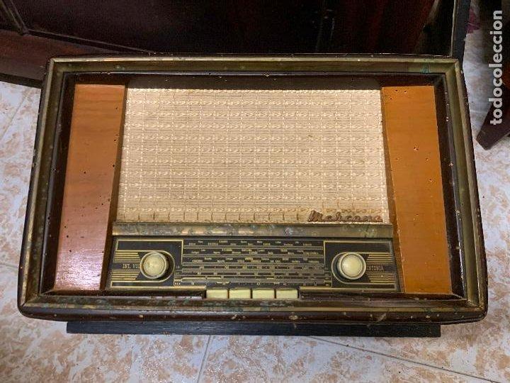 Radios de válvulas: Antigua radio MARCONI, modelo AM-96, ver fotos - Foto 6 - 220369357