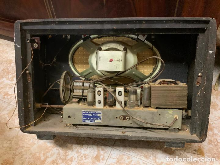 Radios de válvulas: Antigua radio MARCONI, modelo AM-96, ver fotos - Foto 7 - 220369357