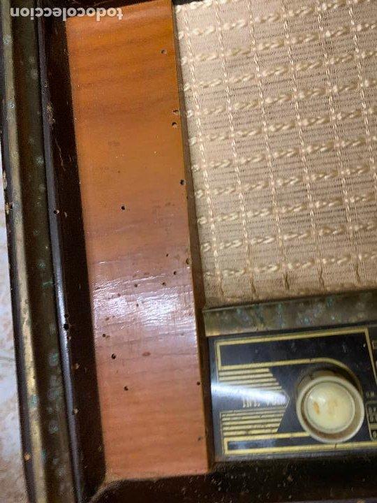 Radios de válvulas: Antigua radio MARCONI, modelo AM-96, ver fotos - Foto 13 - 220369357