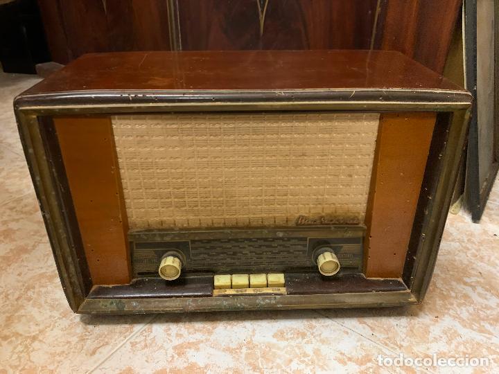 ANTIGUA RADIO MARCONI, MODELO AM-96, VER FOTOS (Radios, Gramófonos, Grabadoras y Otros - Radios de Válvulas)