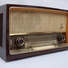 Radio a valvole: ANTIGUA RADIO DE VÁLVULAS GRUNDIG, COMO NUEVA, FUNCIONANDO, MUY BUEN SONIDO (VER VÍDEO).. Lote 220651348