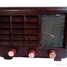 Radios de válvulas: RADIO DE BAQUELITA MAGESTIC AÑOS 30. Lote 220654880