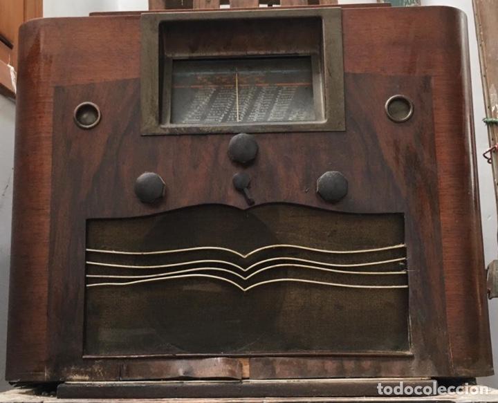 GRAN RADIO MARCONI PARA RESTAURAR (Radios, Gramófonos, Grabadoras y Otros - Radios de Válvulas)