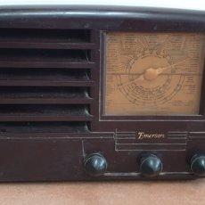 Radios de válvulas: RADIO DE BAQUELITA DE VALVULAS EMERSON. Lote 220702006