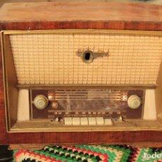 Radios de válvulas: MUNDIAL RADIO, MODELO M-65-T. SERIE MELODIA, PRELUDIO. MARCA ANCAR. FUNCIONA. Lote 220769310