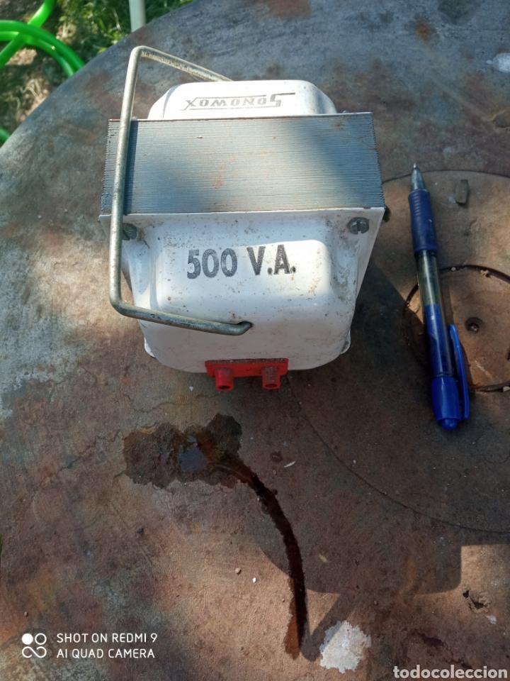 TRANSFORMADOR DE CORRIENTE 500V. (Radios, Gramófonos, Grabadoras y Otros - Radios de Válvulas)