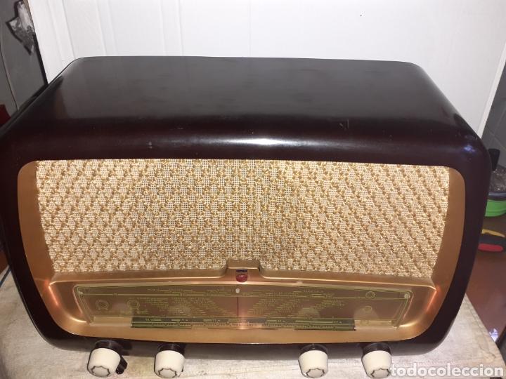 Radios de válvulas: Radio Philips HV 2502 A 50, funcionando - Foto 4 - 221310532