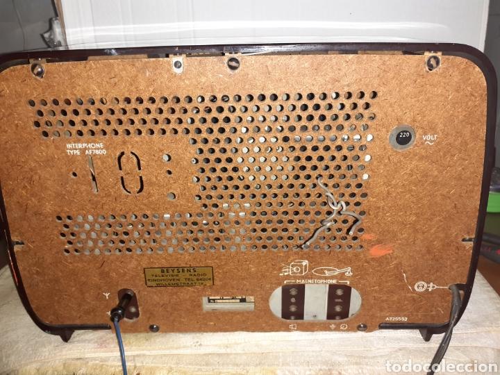 Radios de válvulas: Radio Philips HV 2502 A 50, funcionando - Foto 16 - 221310532