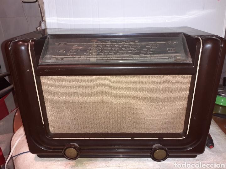 Radios de válvulas: Radio Philips H 185 V - 01 , funcionando - Foto 4 - 221313355