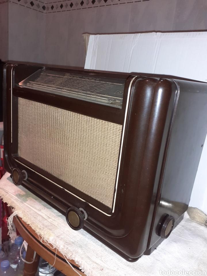 Radios de válvulas: Radio Philips H 185 V - 01 , funcionando - Foto 5 - 221313355