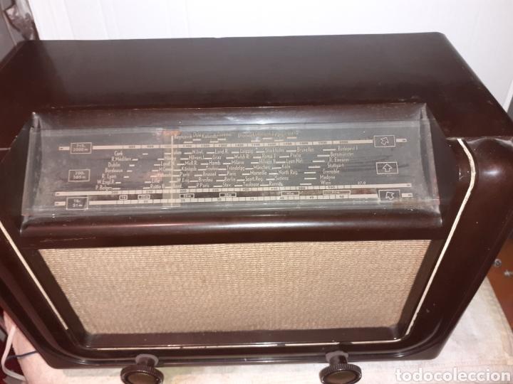 Radios de válvulas: Radio Philips H 185 V - 01 , funcionando - Foto 6 - 221313355