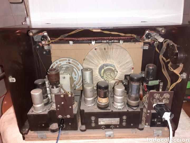 Radios de válvulas: Radio Philips H 185 V - 01 , funcionando - Foto 8 - 221313355