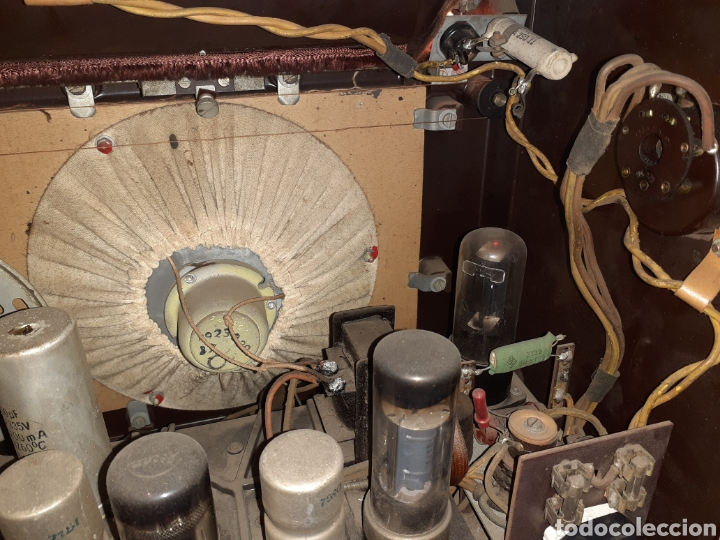 Radios de válvulas: Radio Philips H 185 V - 01 , funcionando - Foto 9 - 221313355