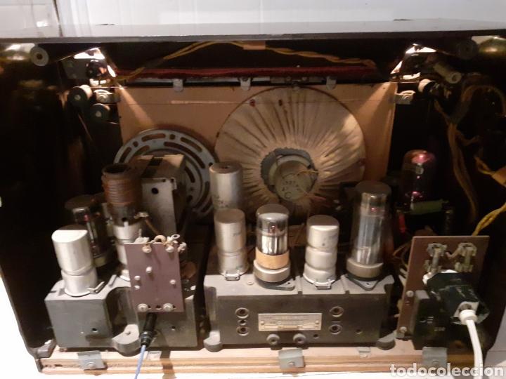 Radios de válvulas: Radio Philips H 185 V - 01 , funcionando - Foto 13 - 221313355