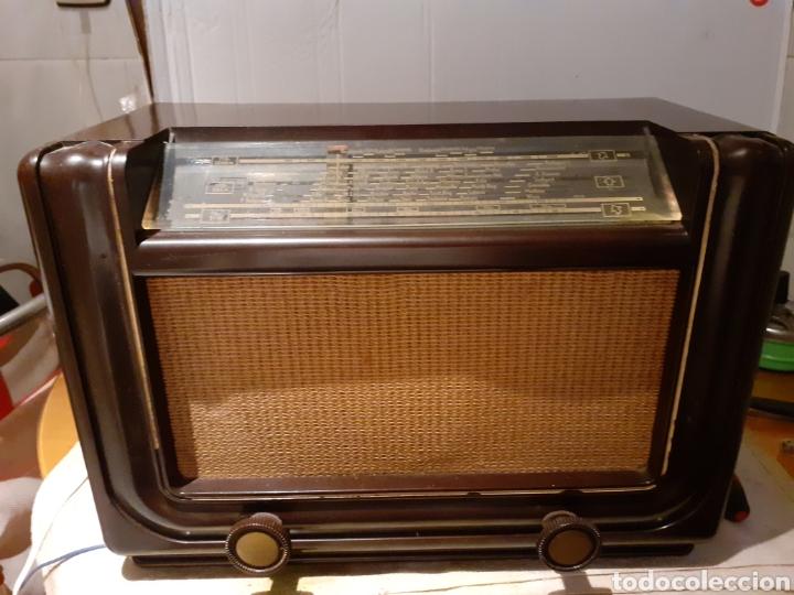 RADIO PHILIPS H 185 V - 01 , FUNCIONANDO (Radios, Gramófonos, Grabadoras y Otros - Radios de Válvulas)