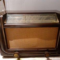 Radios de válvulas: RADIO PHILIPS H 185 V - 01 , FUNCIONANDO. Lote 221313355