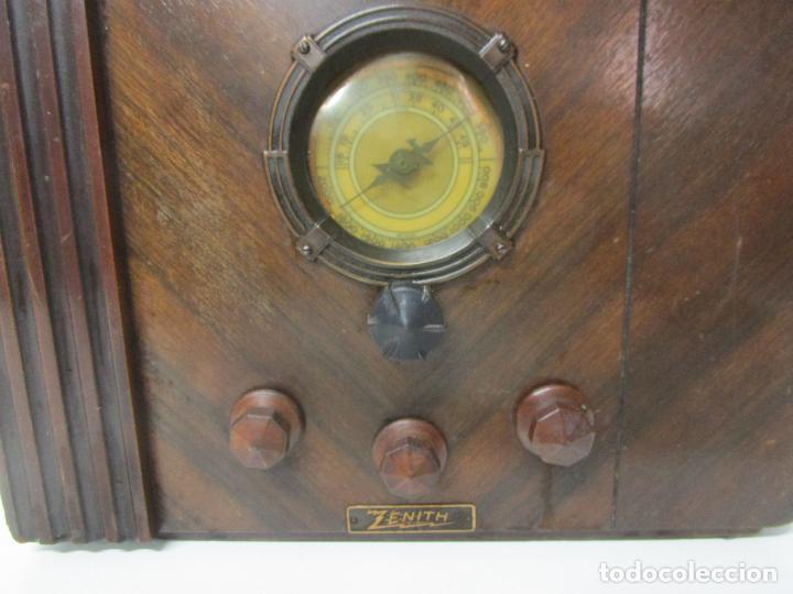 Radios de válvulas: Radio Zenith 812 - Art Decó - se Fabricaron 1154 Unidades -Instrucciones - Año 1935 - Foto 8 - 221359693