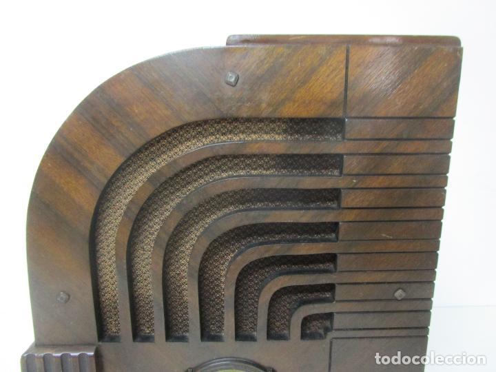 Radios de válvulas: Radio Zenith 812 - Art Decó - se Fabricaron 1154 Unidades -Instrucciones - Año 1935 - Foto 12 - 221359693