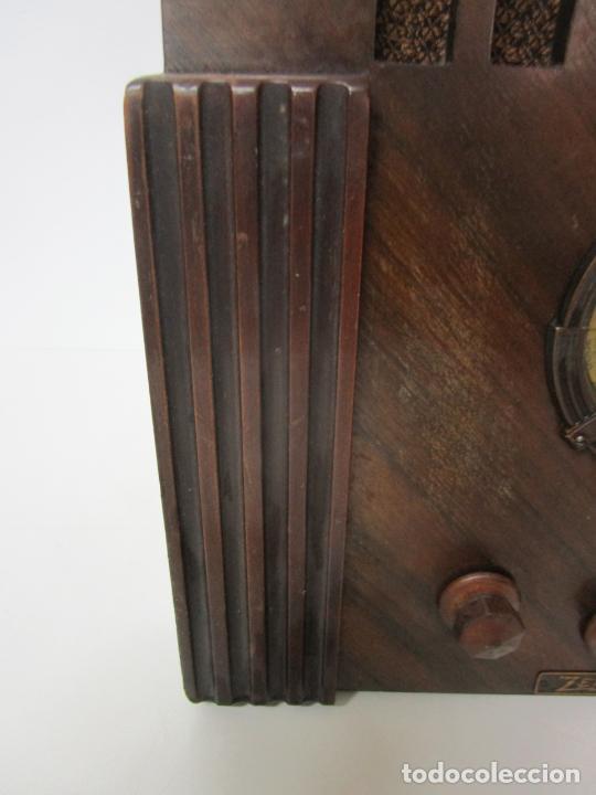 Radios de válvulas: Radio Zenith 812 - Art Decó - se Fabricaron 1154 Unidades -Instrucciones - Año 1935 - Foto 13 - 221359693