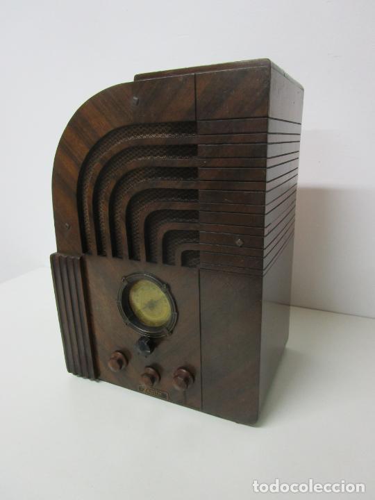 Radios de válvulas: Radio Zenith 812 - Art Decó - se Fabricaron 1154 Unidades -Instrucciones - Año 1935 - Foto 16 - 221359693
