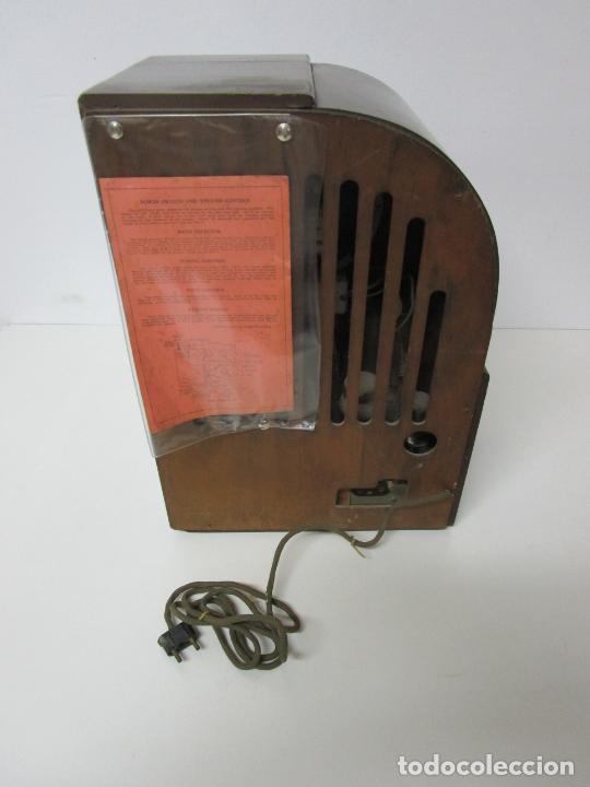 Radios de válvulas: Radio Zenith 812 - Art Decó - se Fabricaron 1154 Unidades -Instrucciones - Año 1935 - Foto 18 - 221359693