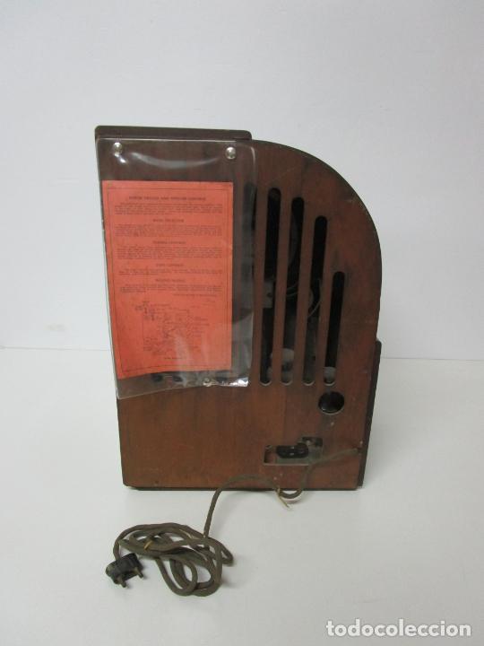 Radios de válvulas: Radio Zenith 812 - Art Decó - se Fabricaron 1154 Unidades -Instrucciones - Año 1935 - Foto 26 - 221359693