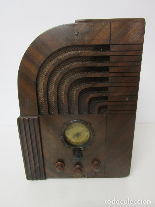 RADIO ZENITH 812 - ART DECÓ - SE FABRICARON 1154 UNIDADES -INSTRUCCIONES - AÑO 1935 (Radios, Gramófonos, Grabadoras y Otros - Radios de Válvulas)