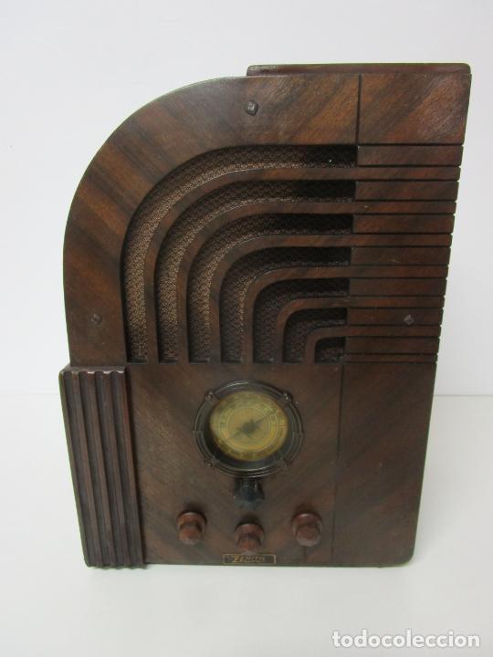 Radios de válvulas: Radio Zenith 812 - Art Decó - se Fabricaron 1154 Unidades -Instrucciones - Año 1935 - Foto 32 - 221359693