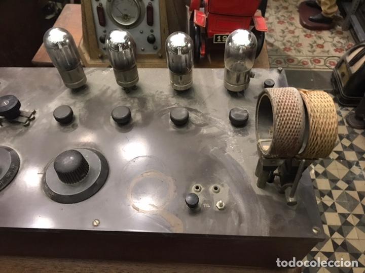 RADIO DE VÁLVULAS VISTAS AÑOS 20 (Radios, Gramófonos, Grabadoras y Otros - Radios de Válvulas)