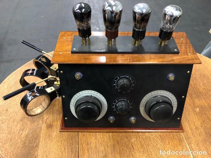 MUY BONITA RADIO DE VÁLVULAS VISTAS AÑOS 20 (Radios, Gramófonos, Grabadoras y Otros - Radios de Válvulas)
