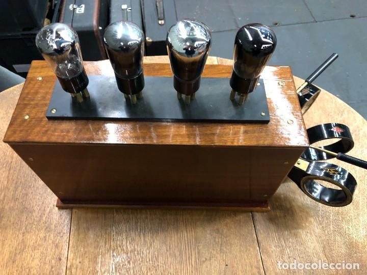 Radios de válvulas: Muy bonita Radio de válvulas vistas años 20 - Foto 2 - 221607550