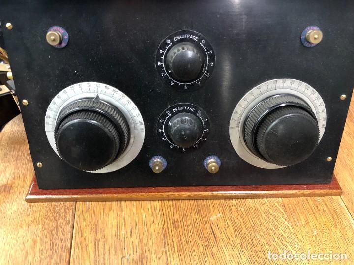 Radios de válvulas: Muy bonita Radio de válvulas vistas años 20 - Foto 3 - 221607550