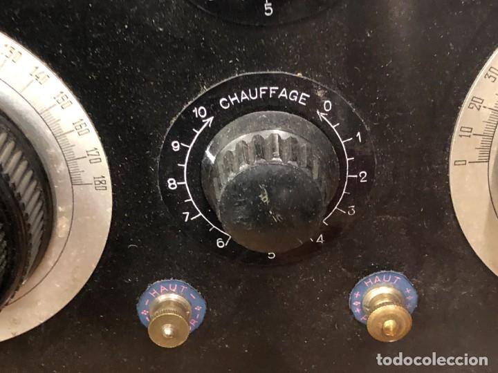 Radios de válvulas: Muy bonita Radio de válvulas vistas años 20 - Foto 5 - 221607550